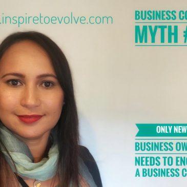 Business Coach Myth # 1
